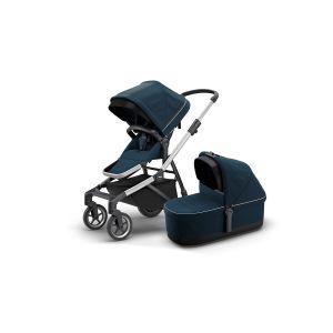 Thule Sleek Stroller + Bassinet Navy Blue 11000010AU