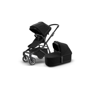 Thule Sleek Stroller + Bassinet Black on Black 11000019AU