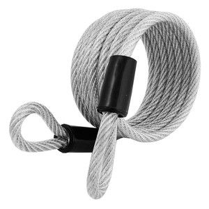 Master Lock Cable Self Coil Plas Cov 1.8m - 65DAU