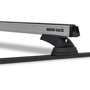 Heavy Duty RCL RTV Trackmount Silver 2 Bar Roof Rack