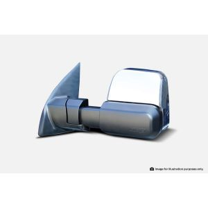 MSA Towing Mirrors Ford Ranger-chrome. 2012-current. Chrome, Electric, Heated, Indicators TM603