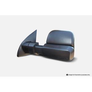 MSA Towing Mirrors Toyota Hilux-black. 2015-current. Black, Electric (no Indicators) TM700
