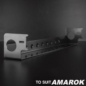 Stedi VW Amarok Lower Grill Light Bar Mounting Bracket 31.5 inch - BRKAM-GRILL-LOW-31.5