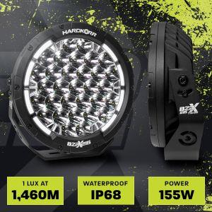 Hard Korr BZR-X Series 9? Led Driving Lights (Pair W/Harness)
