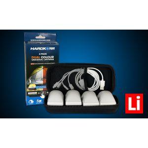 KORR 4PK Unilight Dual-Colour Universal Lantern with Lithium Batteries - HKUNILITH4