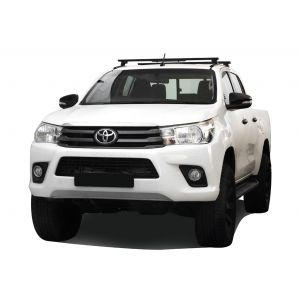 Front Runner Toyota Hilux Revo DC (2016-Current) Load Bar Kit / Track & Feet - by Front Runner - KRTH017