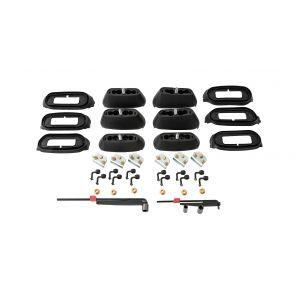 Rhino Rack RCP Roof Rack Base Kit (x6) RCP65-BK