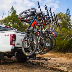 Shingleback Vertical Rack - 5 bike Rack - SB5BIKE