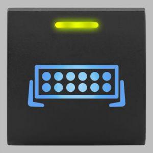 Stedi Square Type Push Switch To Suit Stedi Fascia Panels - Light Bar SQUARE-TOY-BAR