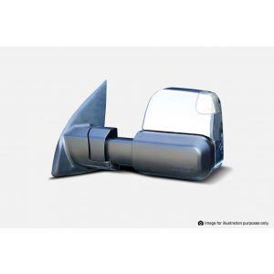 MSA Towing Mirrors Mitsubishi Triton (Chrome, Electric, Indicators, Blind Spot Monitoring) 2015-Current - TM1103