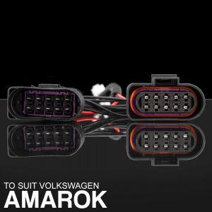 Stedi VW Amarok Headlight Piggy Back Adapter VOLKSWAGEN-AM-ADAPTER