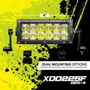Korr Lighting XD Gen4 6 Inch Dual Row Led Light Bar (XDD225F-G4)