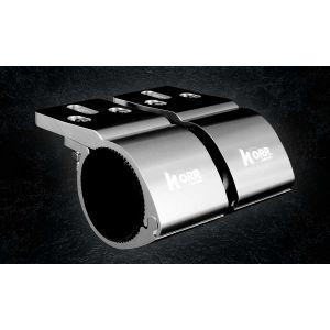 KORR 60-65MM BULL BAR CLAMPS - CHROME KBBCR60C KBBCR60C