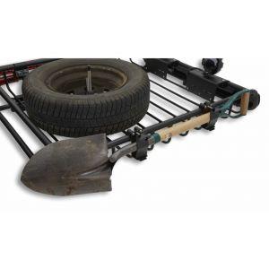 8007078 Roof racks galore Yakima mega warrior load warrior axe holder shovel holder