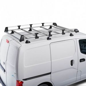 CRUZ Evo Rack Alu module 280 x 140 cm for MERCEDES BENZ Vito 2014 on SWB Low Roof with Factory Mounting Point