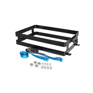 rhino rack pioneer double horizontal jerry can holder roof racks galore