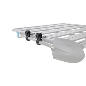 ROOF RACKS GALORE RHINO RACK 43218 PIONEER TRADIE PIONEER PLATFORM PIONEER TRAY PIONEER SPADE PIONEER AXE SPADE HOLDER SHOVEL HOLDER AXE HOLDER
