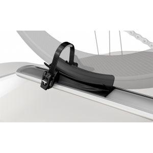 whispbar fork mount cycle carrier  roof top bike carrier roof racks galore