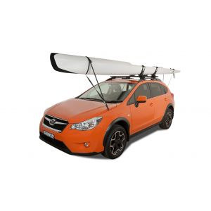 rhino rack kayak / ski bow strap bonnet tie down roof racks galore