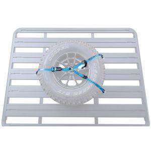 rhino rack spare wheel strap spare tyre strap roof racks galore pioneer platform pioneer tradie pioneer tray