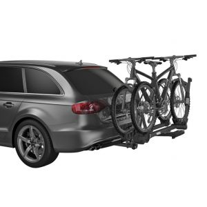 THULE T2 PRO XT - 50mm RECEIVER (SILVER) 2 BIKE CARRIER 9034XTS