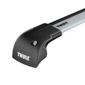 Thule Wingbar Edge Fixedpoint / Solid Roof Rails Silver-959600