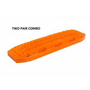 Maxtrax Recovery boards orange 2 Pair Combo MTX02SO