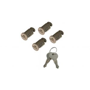 Rhino Rack LOCK KIT TO SUIT 2500 LEG (4) RLK-LOCK-4