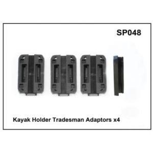Whispbar Kayak Holder Tradesman Adaptors x 4 YSP048