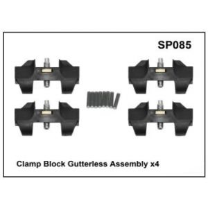 SP085 Roof racks galore yakima prorack pro rack whispbar spare parts clamp block gutterless assembly mounts