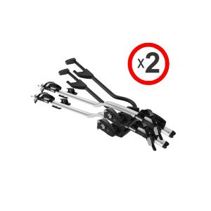 Thule Proride 598001 silver 2 pack
