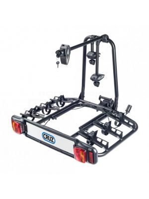 Cruz Bike carrier for towbar mounting Cyclone 3 bikes 7 pins