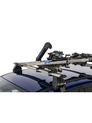 rhino rack ski arm fishing rod holder snowboard carrier roof racks galore
