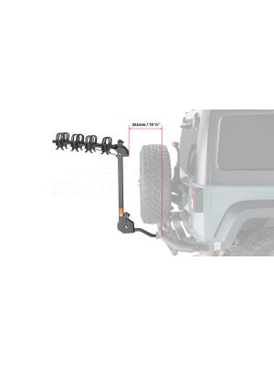Rhino Rack Cruiser 4 Bike Carrier RBC051