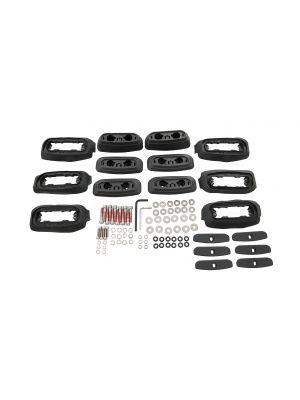 Rhino Rack RCP Base Kit (x6)Prado 150 11/09- RCP23-BK