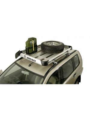 Roof racks galore Rhino rack Roof rack Spare Wheel holder Spare Tyre Holder Wheel holder Tyre holder Rhino pioneer pioneer tray pioneer tradie pioneer platform RSWH