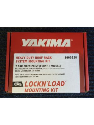 Yakima Lockn load Fitting Kit for 2 Bar FP Toyota LC100 8000326