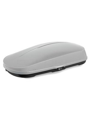 Whispbar WB751S Compact Roof Box 400L (Gloss Silver) 8057114