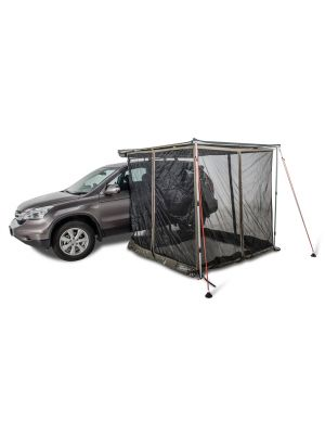 rhino rack sunseeker mesh room 2m awning shade fly screen roof racks galore