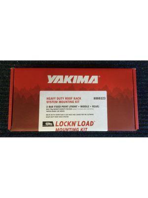 Yakima Lockn load Fitting Kit for 3 Bar FP Toyota Prado 120 8000323